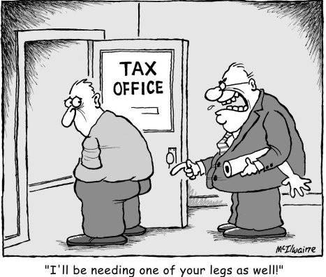 I'll be needing one of your legs as well cartoon